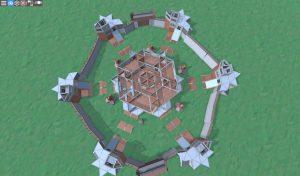 3 этаж клановой базы в RUST