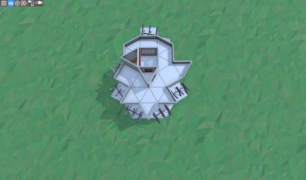 3 этаж продуманного дома для соло игрока в RUST