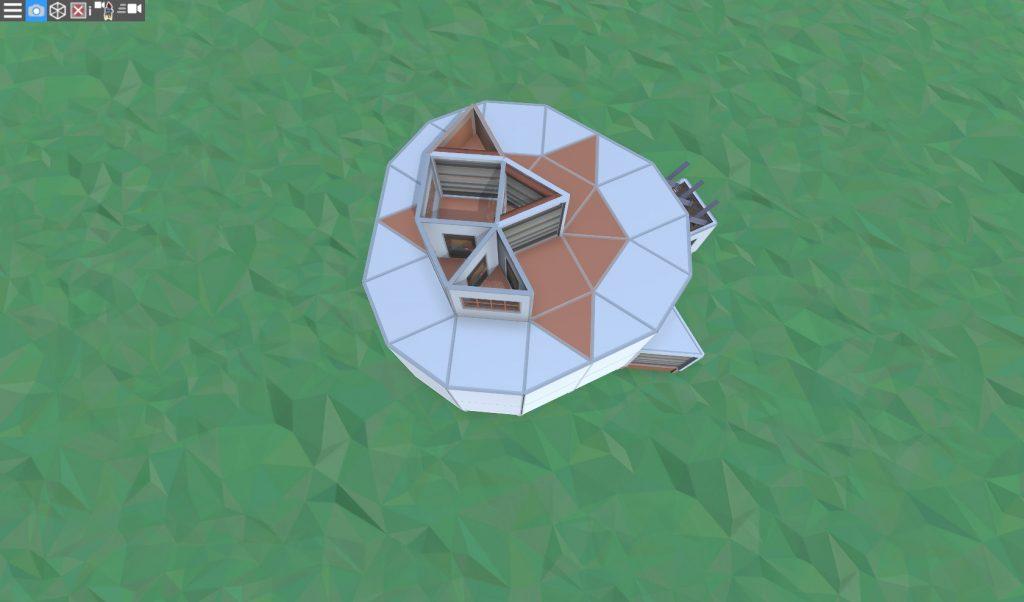 3 этаж продуманного соло дома в RUST