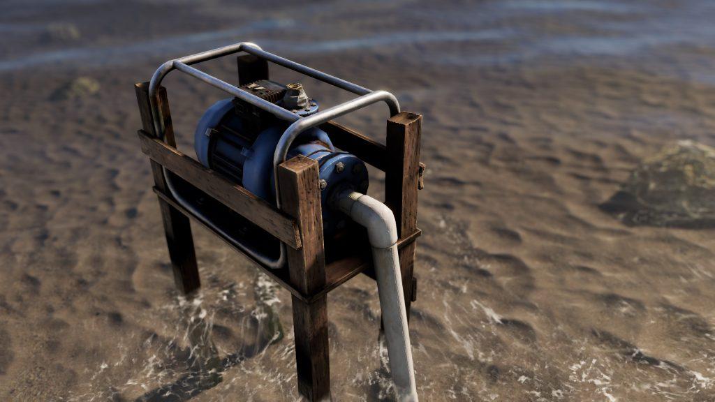 Водяной насос в Rust