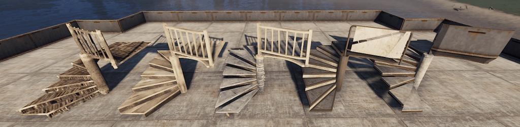 Винтовые лестницы в Rust