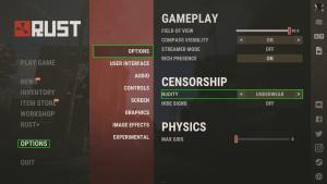 Изменение цензуры в Rust