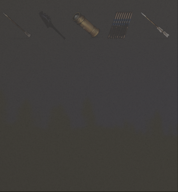 Изученные предметы из категории Боеприпасы в Rust
