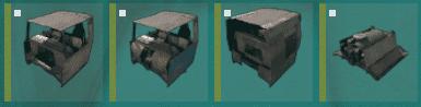 Кабины и мотор в Rust