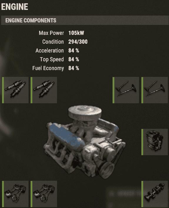 Настройка двигателя в Rust