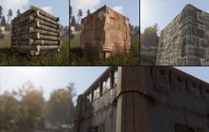 Обновлённые стены в Rust