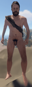 Отключенная цензура на персонажа в Rust