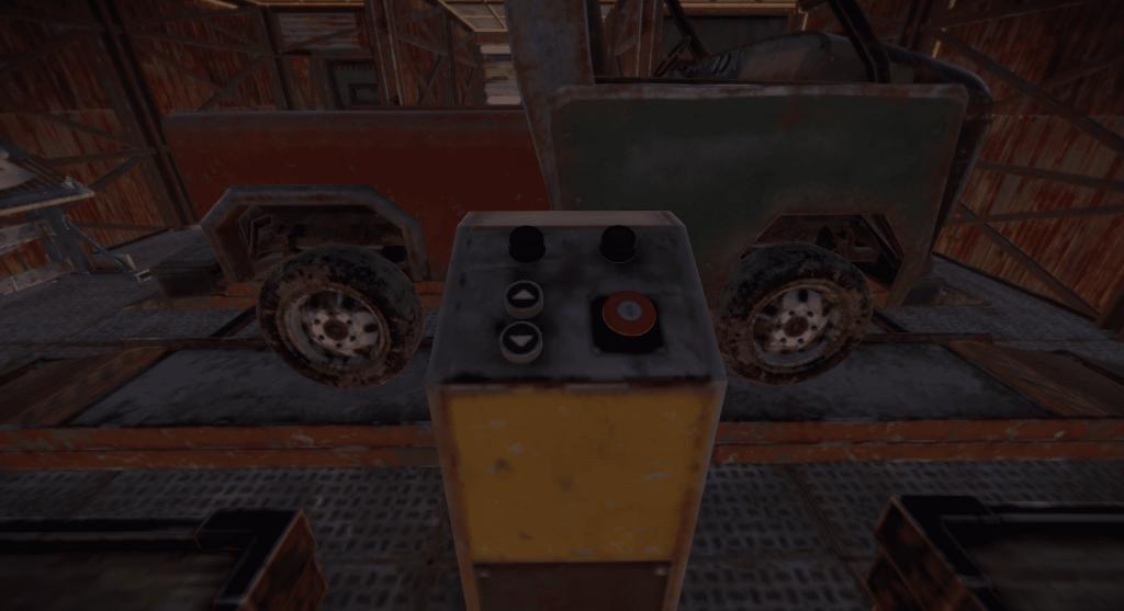 Панель управления подъёмником в Rust