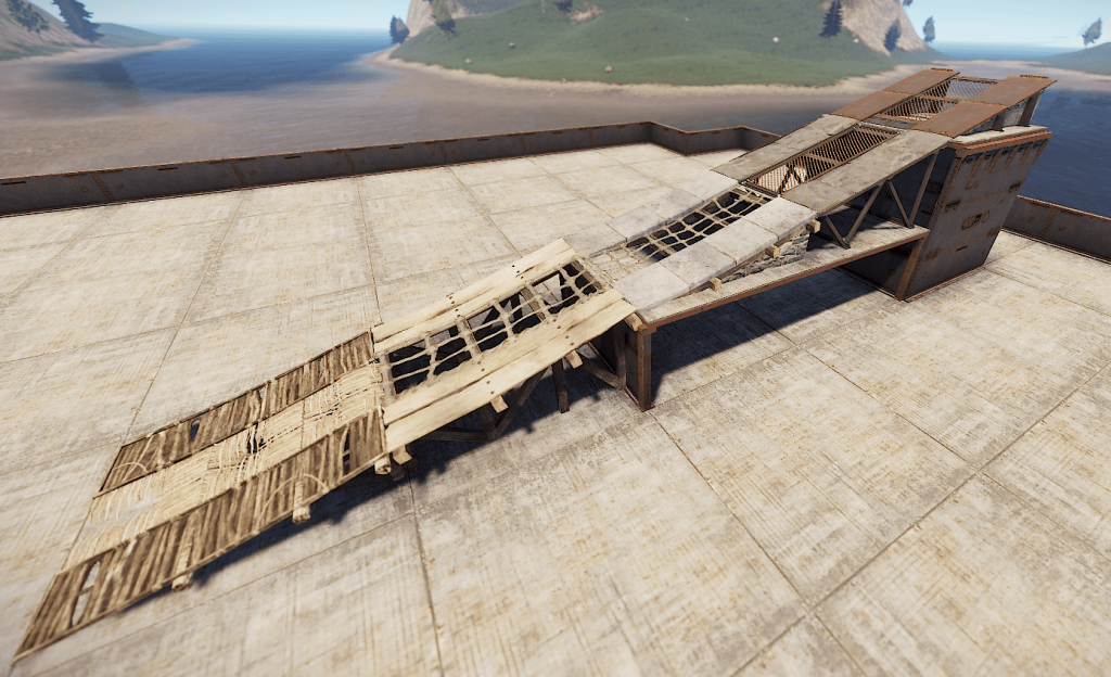 Рампы в Rust
