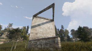 Треугольный потолочный каркас в Rust