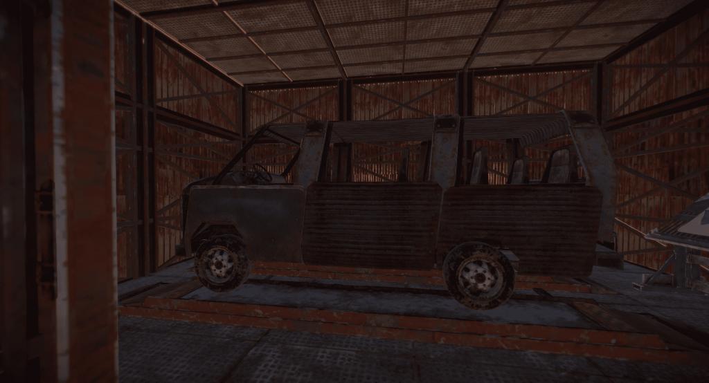 Трёхмодульная пассажирская машина в Rust