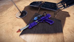 Водяное ружьё в Rust