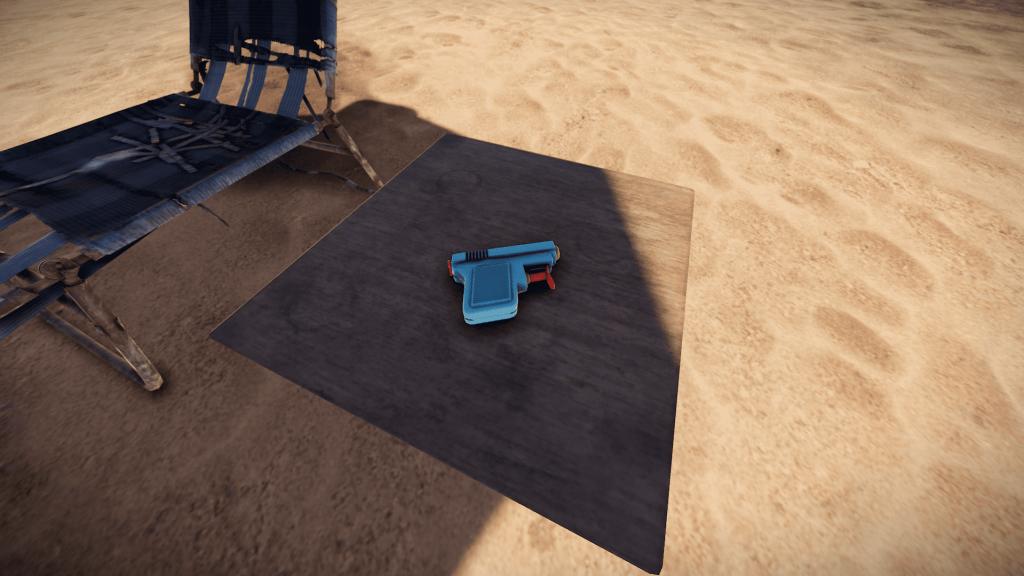 Водяной пистолет в Rust