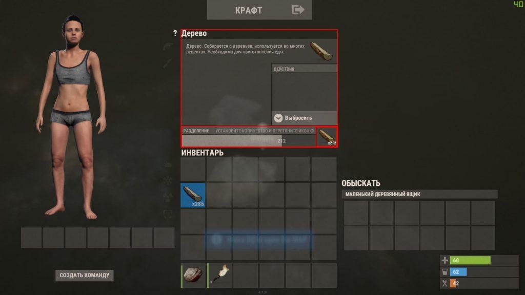Информация о предмете в Rust