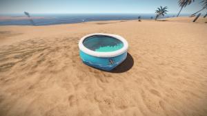 Надувной бассейн в Rust