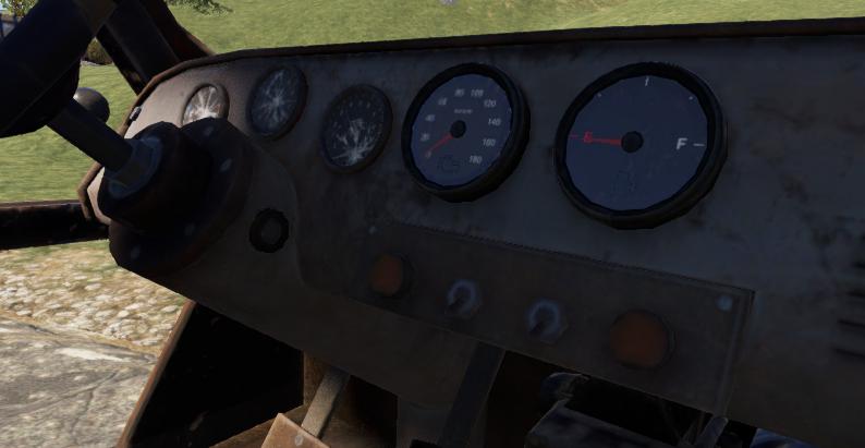 Панель машины без замка в Rust