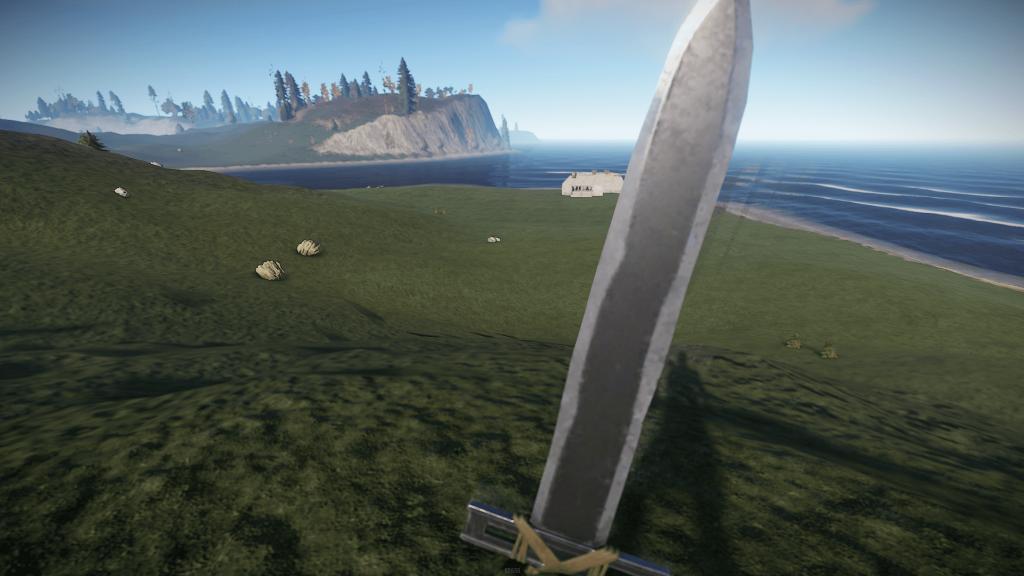 Самодельный меч в Rust