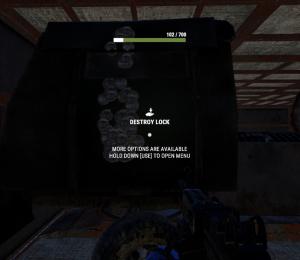 Уничтожение замка в Rust