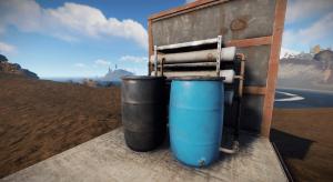 Электрический опреснитель воды в Rust