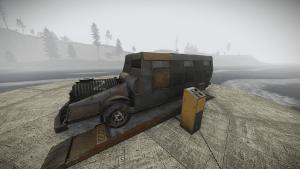 Броневик в Rust