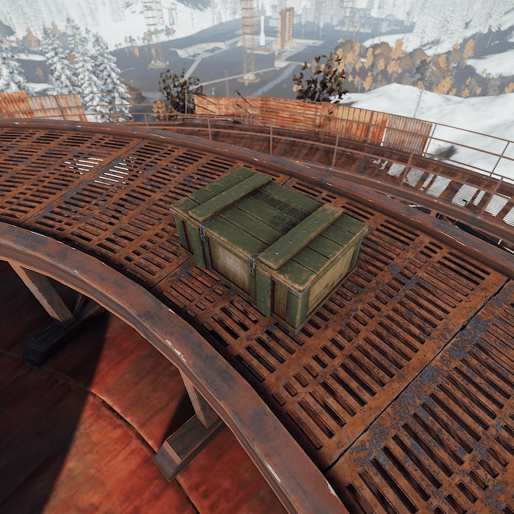 Военный ящик в Rust