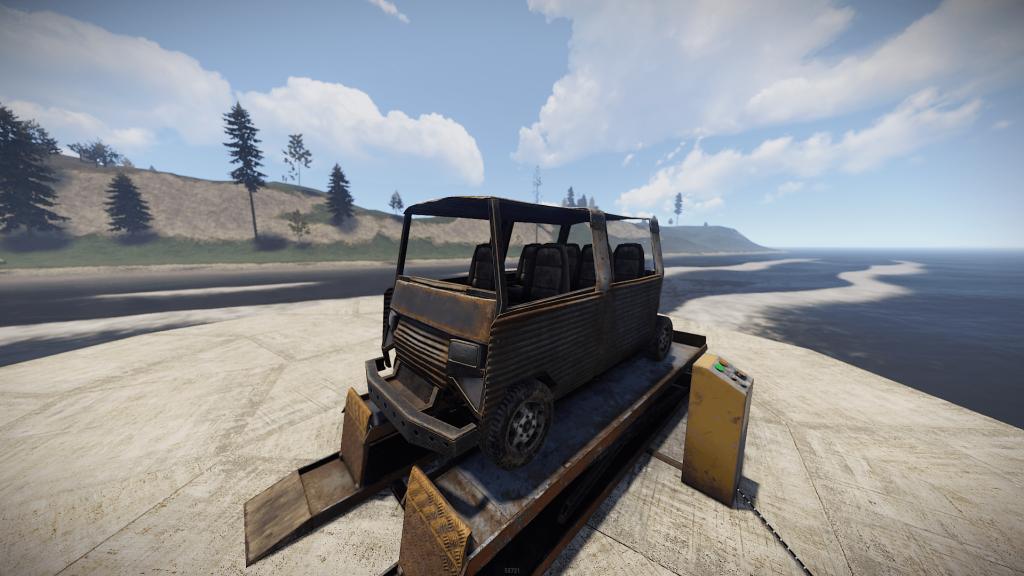 Двойной пассажирский модуль в Rust