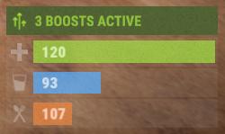 Количество усилений в Rust