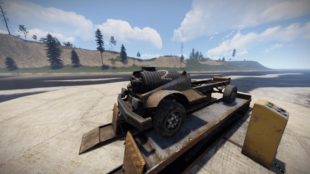 Модуль двигателя в Rust