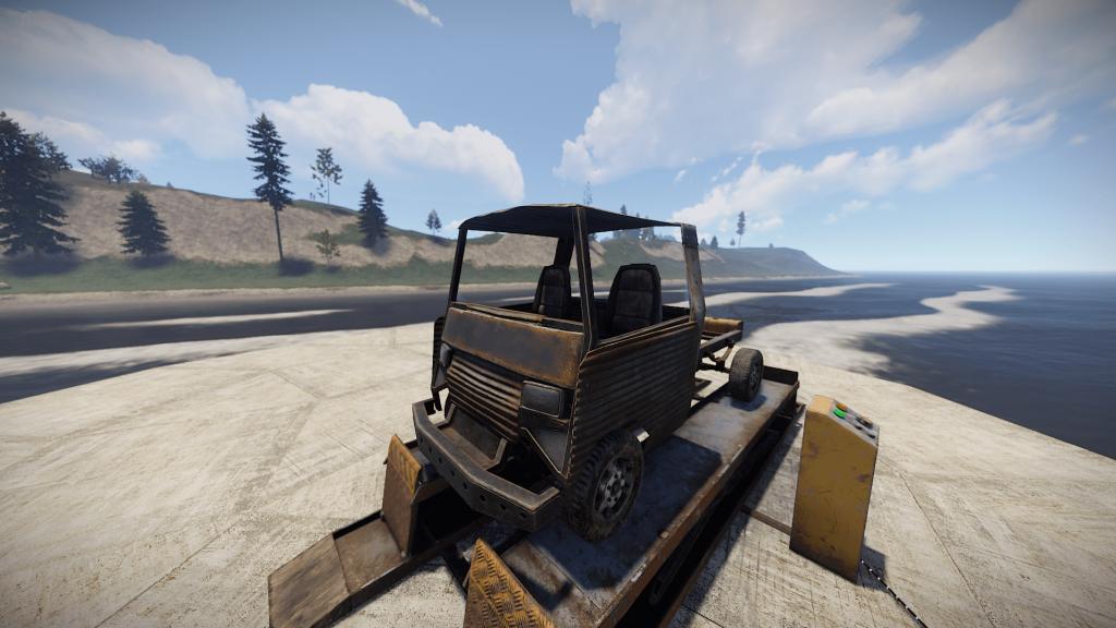 Пассажирский модуль в Rust