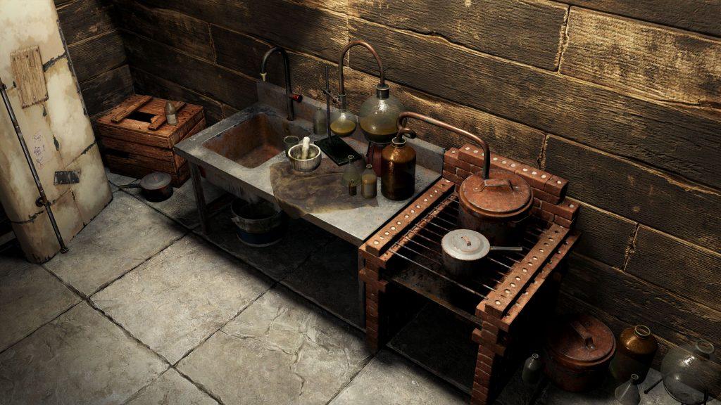 Стол для смешивания в Rust