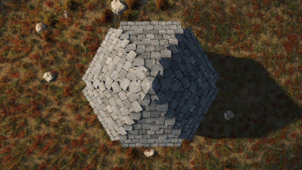 Угловые крыши в Rust