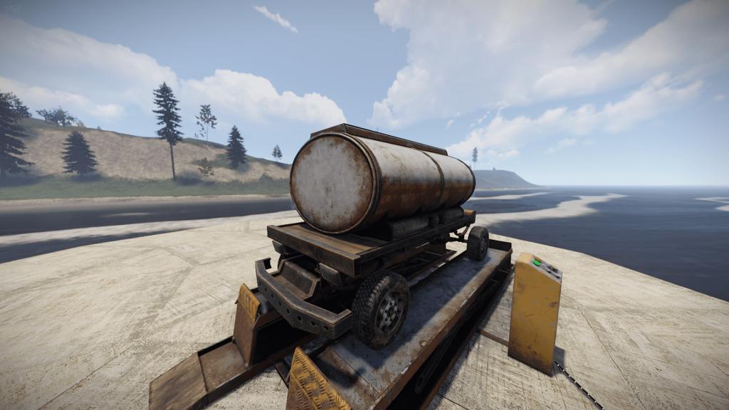 Цистерна в Rust