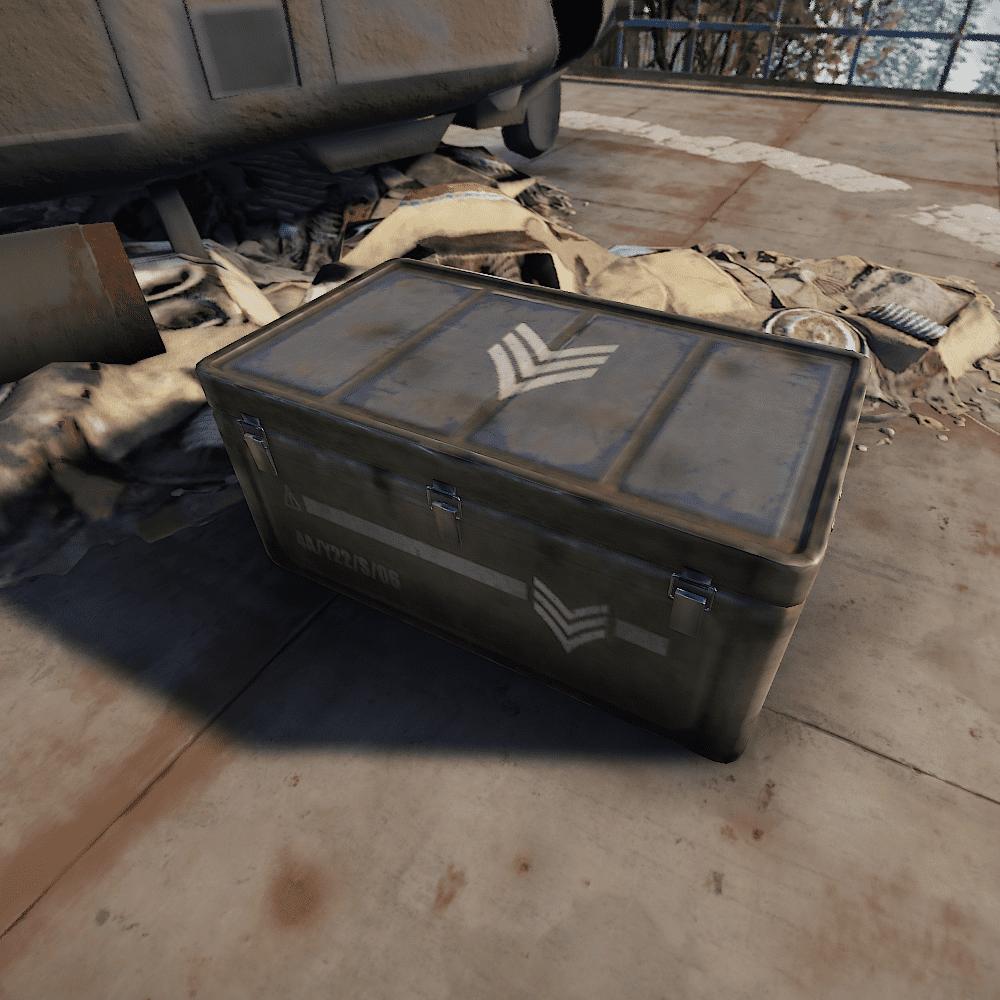 Элитный ящик в Rust