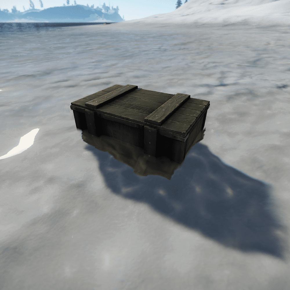 Ящик вертолёта в Rust