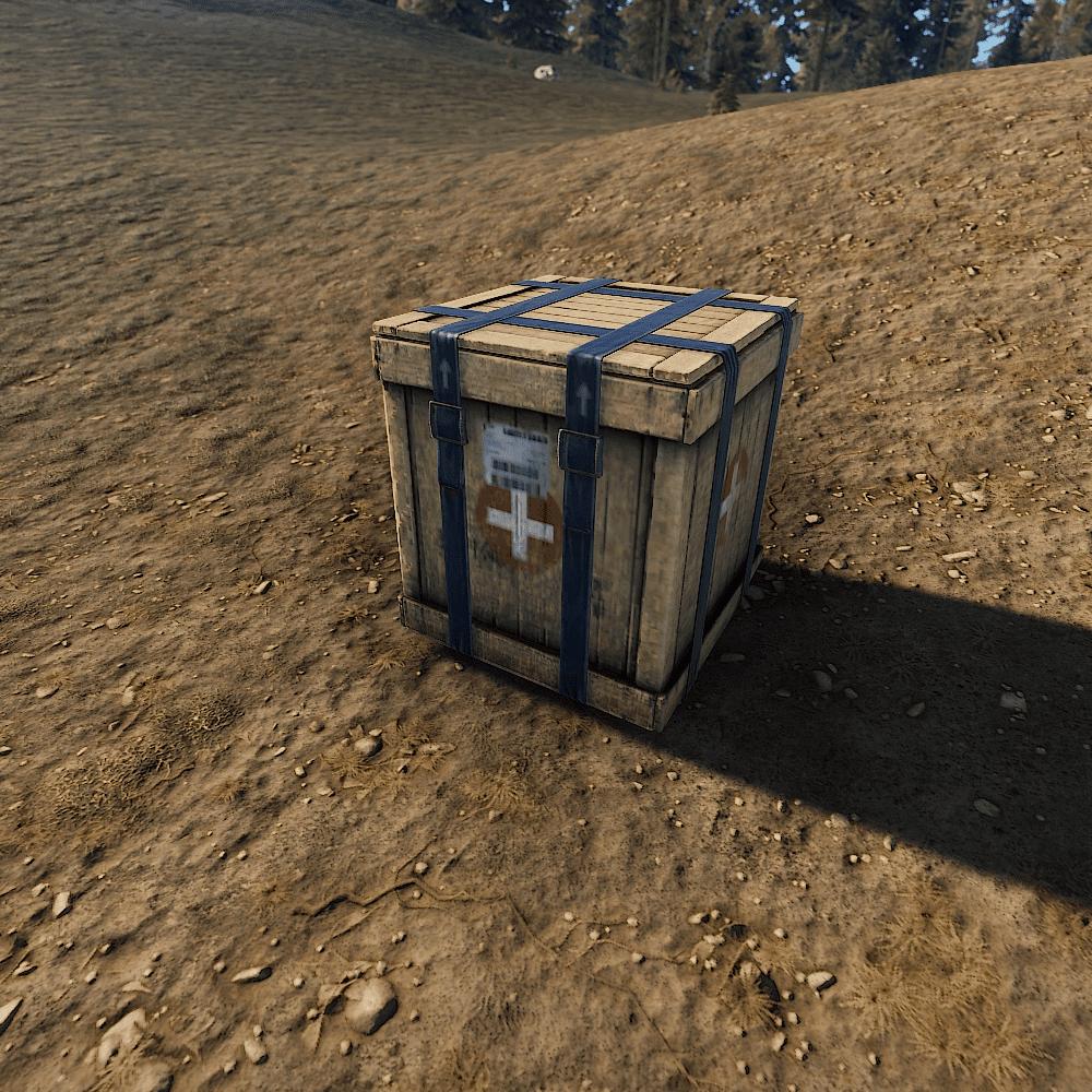 Ящик с медикаментами в Rust