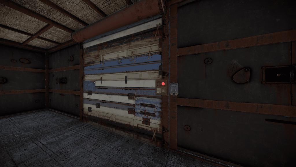 Гаражная дверь и переключатель в Rust