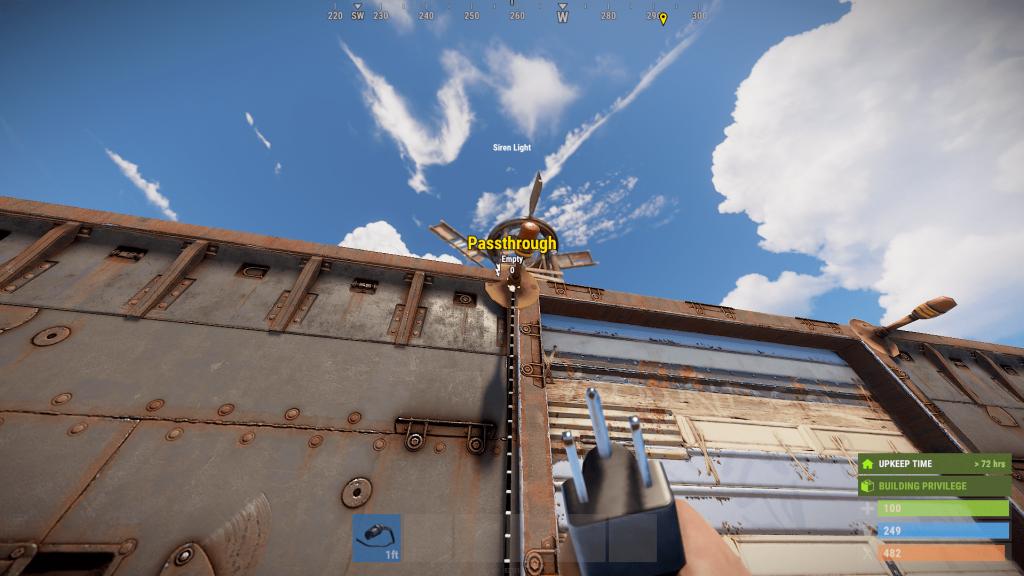 Передача энергии из сирены в Rust