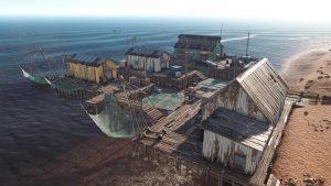 Рыбацкая деревня в Rust