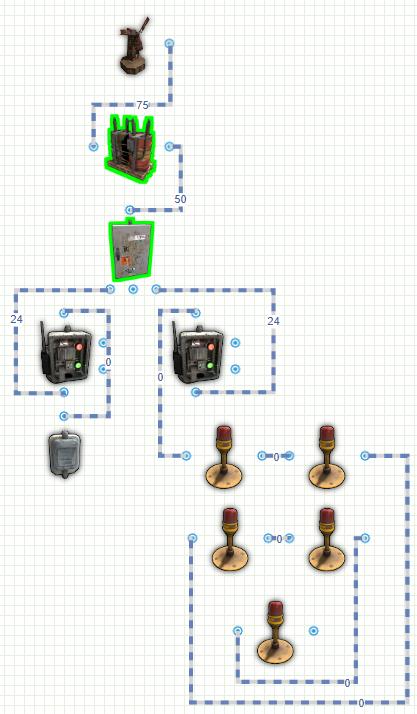 Схема модернизированного ангара в Rust