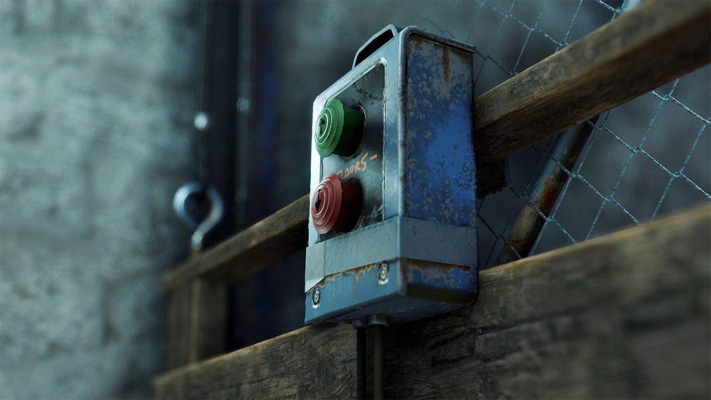 Кнопки в лифте в Rust