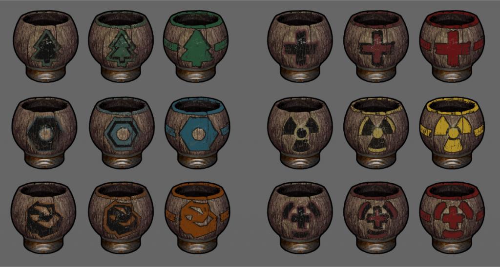 Обновлённые иконки чаёв в Rust