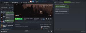 Открытие папки с Rust через Steam