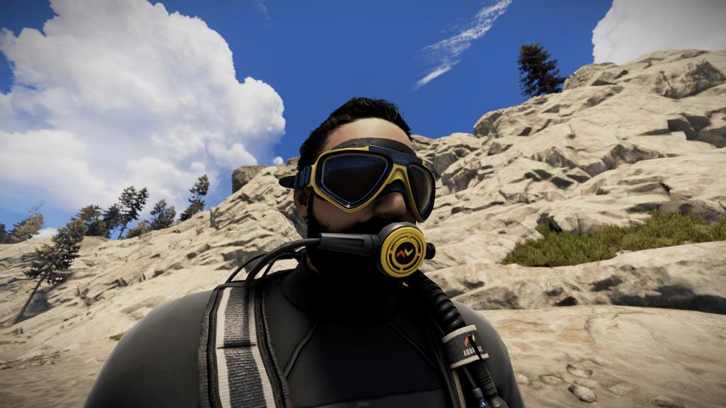 Подводная маска в Rust