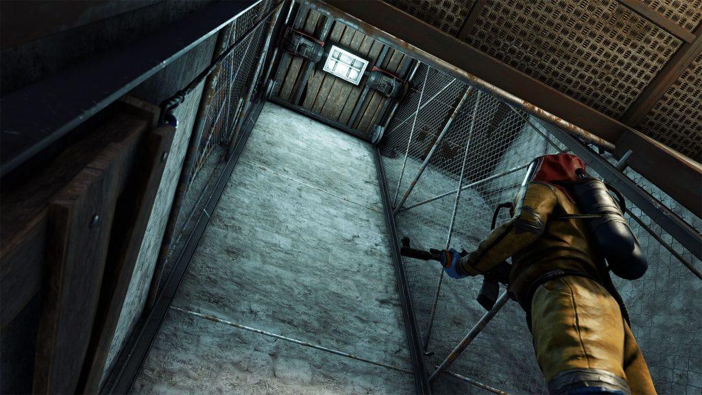 Шахта лифта в Rust