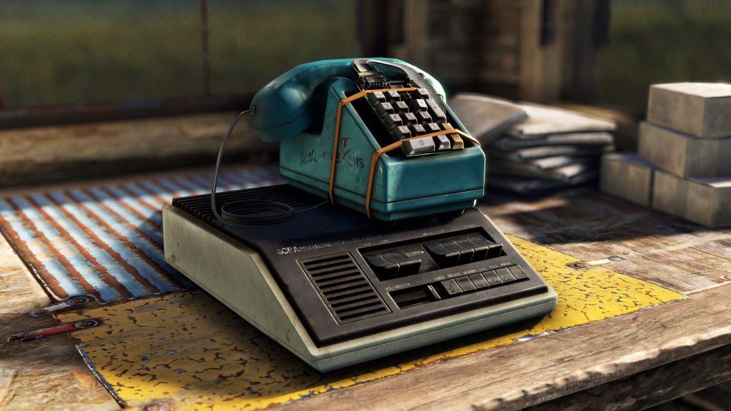 Домашний телефон в Rust