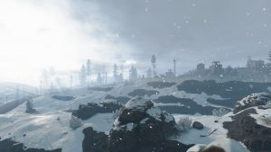 Снегопад в Rust