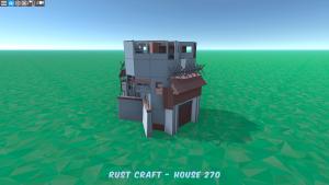 Дом Fortress3 в Rust