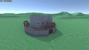 Дом Fortress2 в Rust