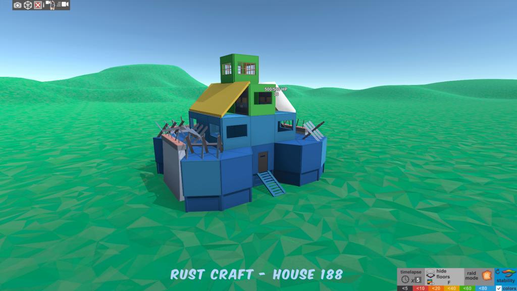 Стабильность дома Spiker4 в Rust