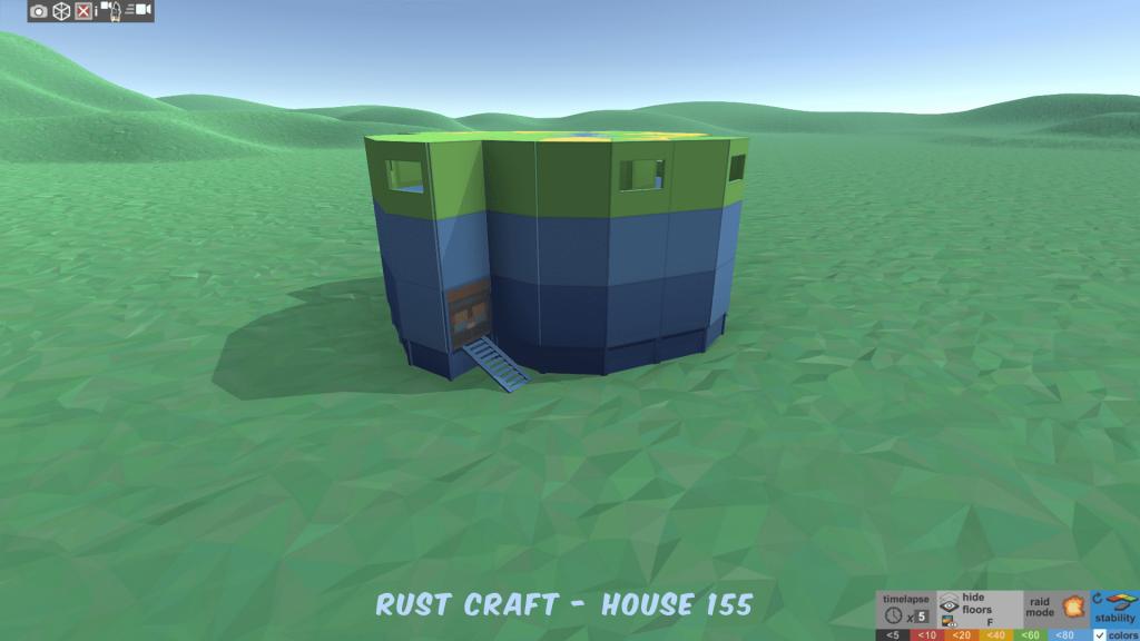 Стабильность дома Spin2 в Rust